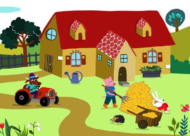 Emilie Chollat Farm for a mural