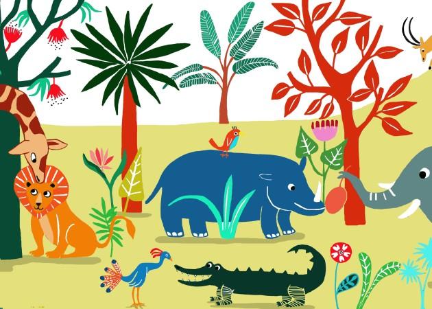 Emilie Chollat-jungle personal illustration
